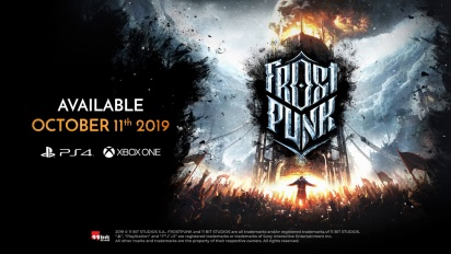 Frostpunk - Console Edition Release Date Trailer