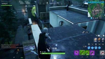 《要塞英雄》 X Batman遊玩畫面