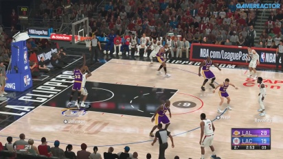 《NBA 2K21》- Milwaukee Bucks, LA Clippers, and LA Lakers Gameplay