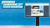 三星 Space Monitor 27 - 快速查看