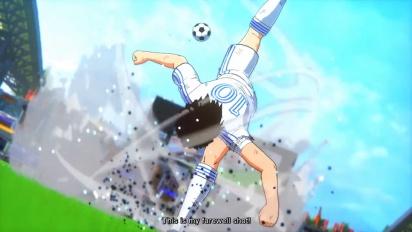 Captain Tsubasa: Rise of New Champions - Story Mode Trailer