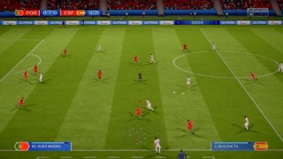 FIFA 世界盃 2018 - 葡萄牙 vs 西班牙