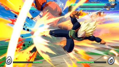 《七龍珠FighterZ》- 任天堂Switch 版,2P對決模式 gameplay