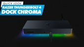 Razer Thunderbolt 4 Dock Chroma - 快速查看