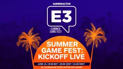 夏日遊戲節 Kickoff Live! - 完整節目重播