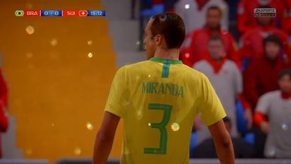 FIFA 世界盃 2018 - 巴西 vs 瑞士
