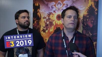 《毀滅戰士:永恆》- Marty Stratton 與 Hugo Martin 訪談