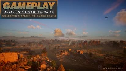 《刺客教條:維京紀元》- Gameplay #2 探索與攻擊伯格城堡