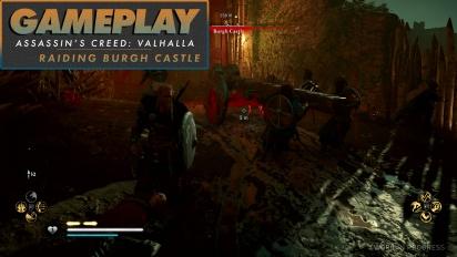 《刺客教條:維京紀元》- Gameplay #3 突襲伯格城堡