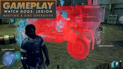《看門狗:自由軍團》-  與 SIRS 會面行動 Gameplay