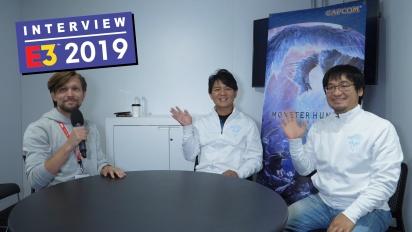 《魔物獵人 世界》-  Iceborne 擴展內容 - Ryozo Tsujimoto 跟 Kaname Fujioka  訪談