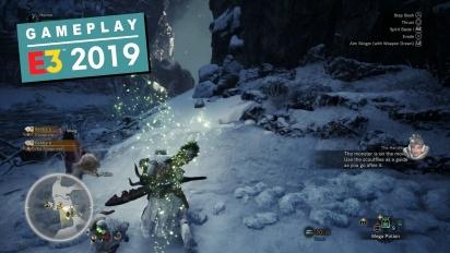 《魔物獵人 世界》-  Iceborne 擴展內容 Gameplay