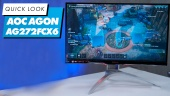AOC 的 Agon AG272FCX6 電競螢幕 - 快速查看