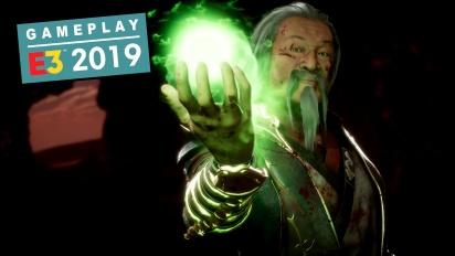 《真人快打 11》 - E3 尚宗 DLC角色亮點