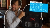 HyperX Raider Backpack - Quick Look