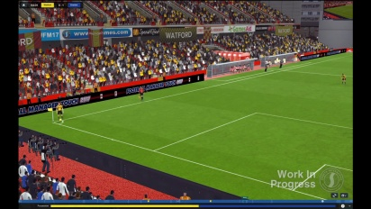 Football Manager 2017 - Work in Progress Match Engine Capture