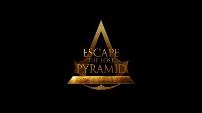 育碧新遊戲《逃出失落金字塔》- 預告片