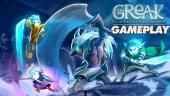 《格瑞克:蔚藍的回憶》- Gameplay