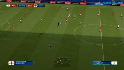 FIFA 世界盃 2018 - 阿根廷 vs 英格蘭 任天堂 Switch Gameplay
