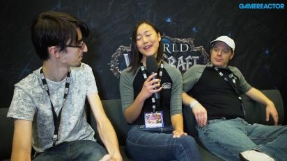 《魔獸世界:決戰艾澤拉斯》-  Tina Wang 與 Jeremy Feasel 訪談