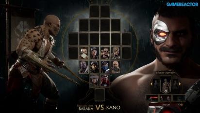 《真人快打 11》 - 巴拉卡 vs 卡諾 Gameplay