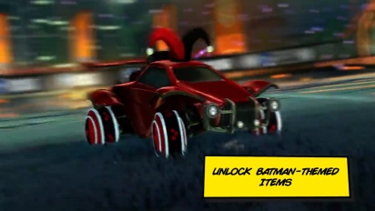 Rocket League - Batman Haunted Hallows 2021 Trailer