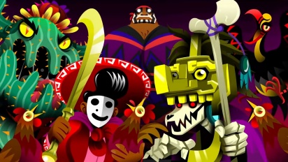 Guacamelee 2 - Steam Announce Trailer