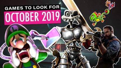 2019十月重點遊戲