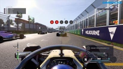《F1 2018》- 澳洲大獎賽  Gameplay ,以 PS4 Pro 錄製