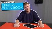 Lenovo Yoga Book 平板電腦 - 快速查看