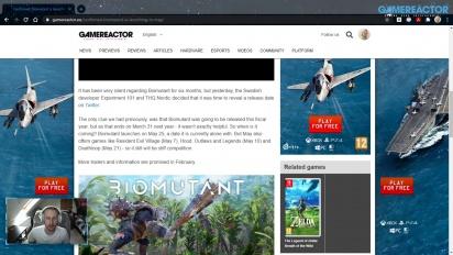 GRTV 新聞 -  《Biomutant》公開發行日期