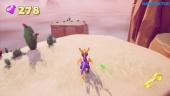 《寶貝龍 Spyro the Dragon:重燃三部曲》- 乾旱峽谷Gameplay