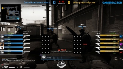 OMEN by HP Liga - Divison 8 Round 8 - Comvibrationem Manu vs Allnighters eSports on Train.
