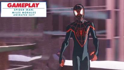 《蜘蛛人:邁爾斯摩拉斯》- 動畫套裝 - Gameplay 剪輯影片