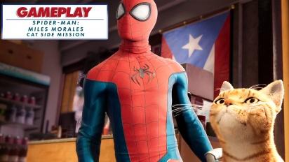 《蜘蛛人:邁爾斯摩拉斯》- 蜘蛛貓支線任務- Gameplay 剪輯影片