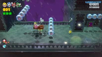 《超級瑪利歐3D世界》- 任天堂Switch Online 多人模式 Gameplay