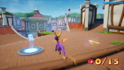《寶貝龍 Spyro the Dragon:重燃三部曲》- 陽光別墅 Gameplay