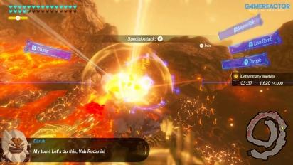 《薩爾達無雙 災厄啟示錄》- 第1 & 2 章,英雄 Gameplay