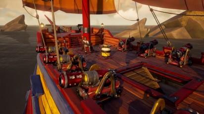 Sea of Thieves - Mayhem Ship Set Reveal Trailer