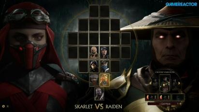 《真人快打11》- Skarlet vs.雷電 公開活動 gameplay