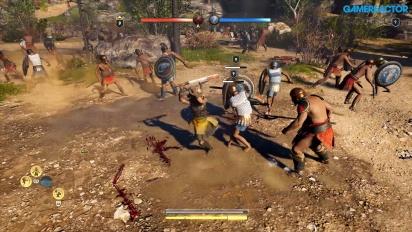 《刺客教條:奧德賽》- Megaris 大型戰爭 Gameplay