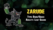 Pokemon Sword/Shield - Zarude the Rogue Monkey Pokémon