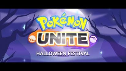 Pokémon Unite - Halloween Festival Trailer
