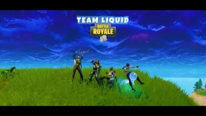 Welcome Team Liquid Fortnite