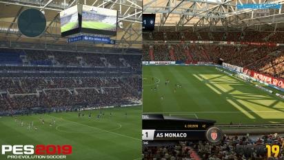 《FIFA19》 vs 《實況足球 2019》- 4K 畫質比較