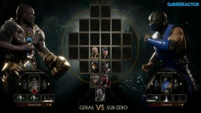 《真人快打 11》- Geras vs.絕對零度 公告活動 Gameplay