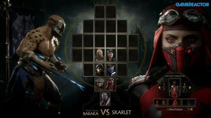 《真人快打11》- 巴拉卡 VS. Skarlet 公開活動 Gameplay