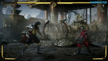 《真人快打 11》- 雷電 VS. 蠍子 公告活動 Gameplay