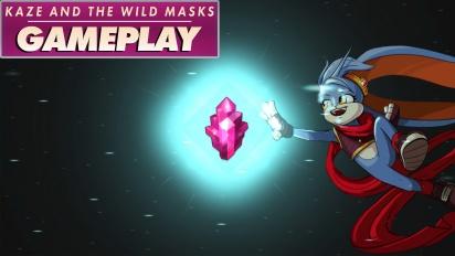 《Kaze and the Wild Masks》-實機操作