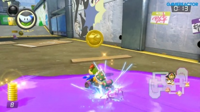 Mario Kart 8 Deluxe - Coin Runners 1080p60 Gameplay